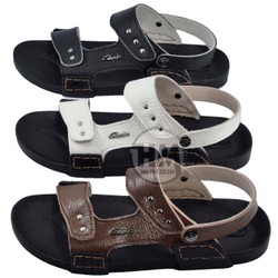 Giày quai hậu - da bò thật - Dép Nam - cực bền