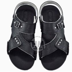 Giày quai hậu - da bò thật - Dép Nam - cực bền-HB1-X3A