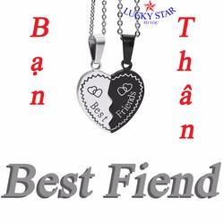 Dây chuyền đôi Bạn Thân - Best Friend