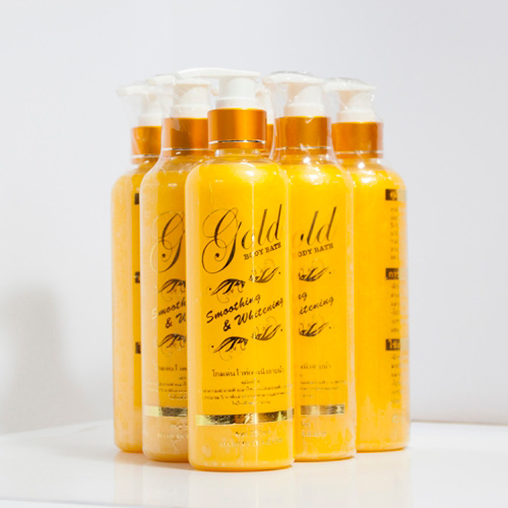 Sữa tắm kích trắng da Gold 24k 2