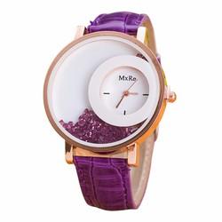 Đồng hồ nữ dây da tổng hợp