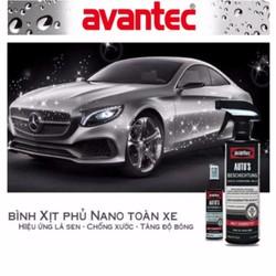 BÌNH XỊT PHỦ NANO TOÀN XE HƠI - AVANTEC