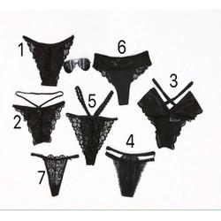 Bộ 7 quần lót nữ 7 ngày đa phong cách