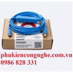 Cáp lập trình FX-USB-AW cho PLC Mitsubishi FX3U