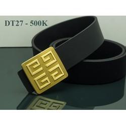 THẮT LƯNG DA THỜI TRANG NAM CAO CẤP DT27