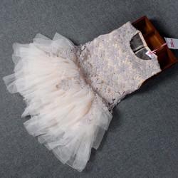 Đầm xèo công chúa vải cực đẹp 1- 3 tuổi