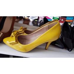 giày cao gót nơ nữ