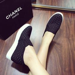 Giày mọi nữ đế độn thời trang