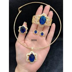 Bộ trang sức mạ V18k cao cấp Orin q1590