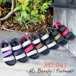 Giày sandal quai dù 2 màu