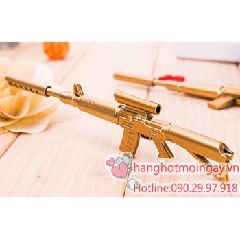 Bút mực nước hình cây súng vàng - N106