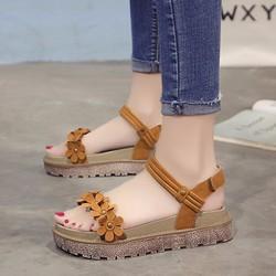 Giày Sandal Nữ đơn giản phong cách thời trang Hàn Quốc - XS0441