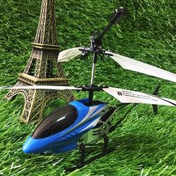Máy bay trực thăng điều khiển 528 màu xanh