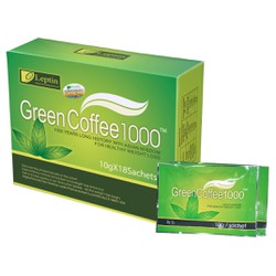 Cafe giảm cân Green Coffee 1000 chính hãng từ Mỹ