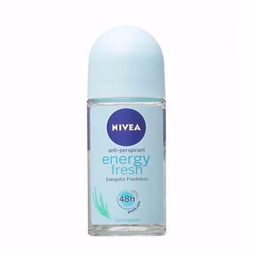Lăn Khử Mùi Tươi Mát Mịn Màng Nivea Energy Fresh 50ml
