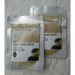 Bột cám gạo càphê nguyên chất