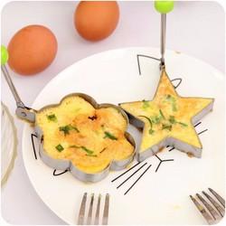 Bộ khuôn rán trứng tạo hình bánh