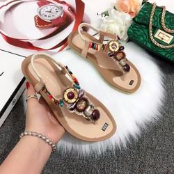 Giày sandal kẹp đế phồng mang cực êm