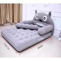 Giường hơi hình thú - tặng kèm bơm điện