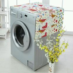 miếng phủ máy giặc bảo vệ nóc máy chất liệu vải cao cấp nhìu màu sắc