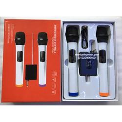 Micro không dây cho loa kéo DYNAMIC MICROPHONE 288A  trắng
