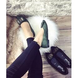 Giày Búp Bê nhung