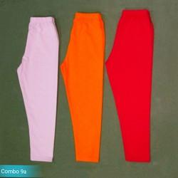 Bộ 3 quần dài legging bé gái