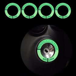 Vòngphản quang dán ổ khóa xe máy