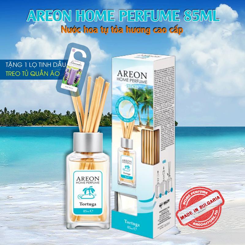 Tinh dầu thơm phòng Areon Home Tortuga Perfume nhập khẩu từ Bulgaria 1