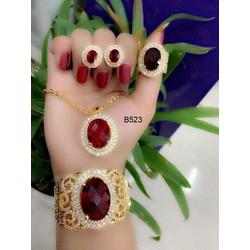Bộ trang sức mạ thời trang cao cấp Orin q1587