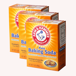 3 Hộp Bột Baking Soda - Mỹ .454 grm