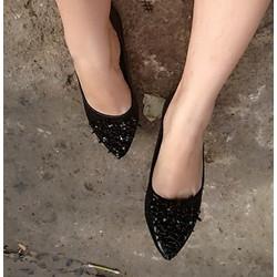 Giày Búp Bê Nhũ Kim Cương - Có Bảo Hành