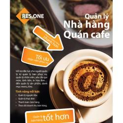 Phần mềm quản lý tính tiền quán Cafe