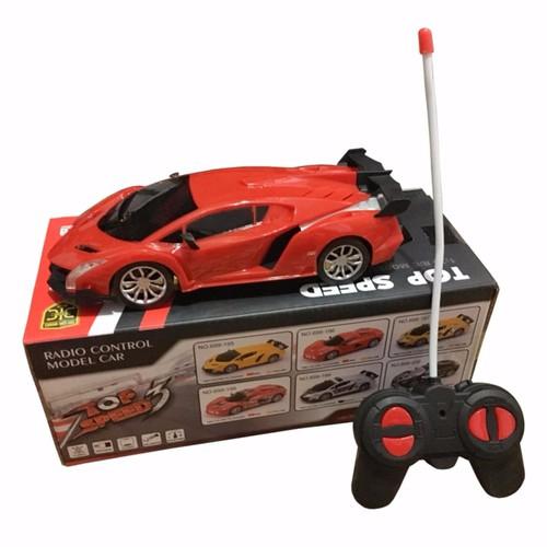 Siêu xe ô tô điều khiển từ xa top speed đồ chơi đua xe cho bé