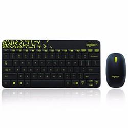Bộ bàn phím và chuột không dây Logi.tech MK240 Nano - Hàng Nhập Khẩu