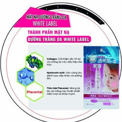 Mặt Nạ Dưỡng Da Trắng Và Mềm Mịn Từ Nhau Thai White Label