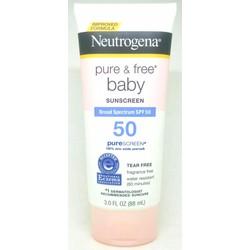 Kem Chống Nắng Cho Trẻ Em Neutrogena Pure Free Baby SPF 50 từ Mỹ