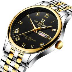 Đồng hồ 2 lịch Rontheedge kính sapphire crystal full box  Mã số:DH1741