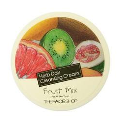 Kem Tẩy Trang Làm Sáng Da HERB DAY CLEANSING CREAM - FRUIT MIX