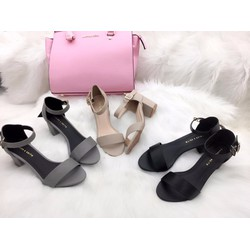 Giày sandal cao gót 5 cm