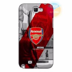 Ốp lưng Samsung Galaxy Note 2 in hình CLB Arsenal