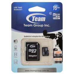 Thẻ nhớ MicroSD Team Class 10 16Gb tặng kèm Adapter
