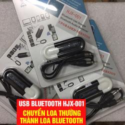 Usb Bluetooth Receiver HJX-001 Thế hệ 2 tạo bluetooth cho loa amply