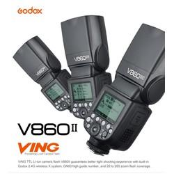 Đèn Flash GODOX V860II GN60 TTL HSS 1.8000s for Canon