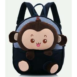 Ba lô hình con khỉ đáng yêu cho bé
