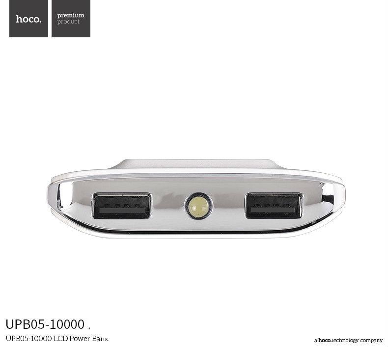 HOCO - Pin Sạc dự phòng UPB05 LCD 10000Mah 2