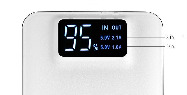 HOCO - Pin Sạc dự phòng UPB05 LCD 10000Mah 3