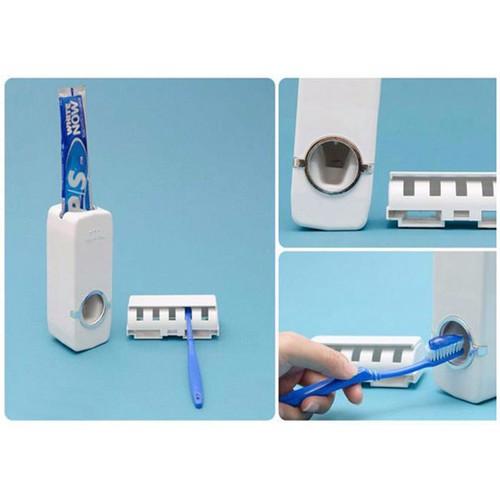 Dụng cụ nhả kem đánh răng tự động - hộp lấy kem đánh răng tự động