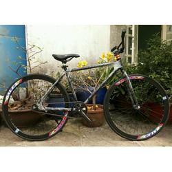 xe đạp fixed gear mới bảo hành sườn 1 năm