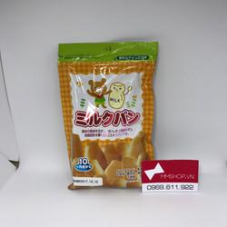 Bánh mì sữa Nhật Bản cho bé gói nhỏ 45g